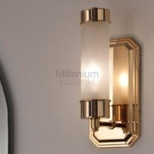 MIA ITALIA Torino Lampa kinkiet ścienny złoty lub chrom