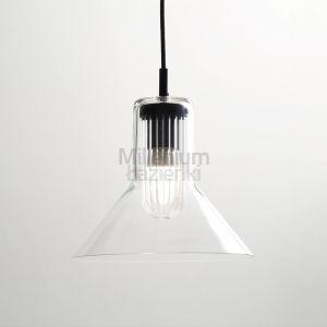 EXT Peacock Nowoczesna lampa wisząca szklana