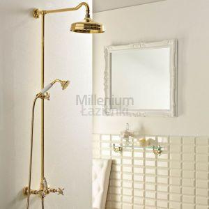SBORDONI Antica AN154 Kolumna prysznicowa retro mosiądz, złota