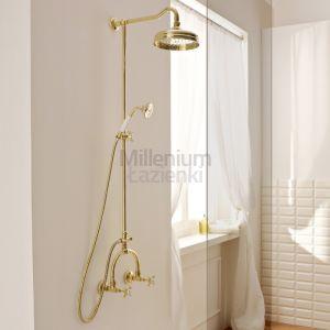 SBORDONI Antica AN136 Kolumna prysznicowa retro mosiądz, złota