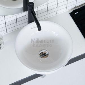 THE BATHCO Bari 4131 Umywalka nabaltowa okrągła 37,5 cm
