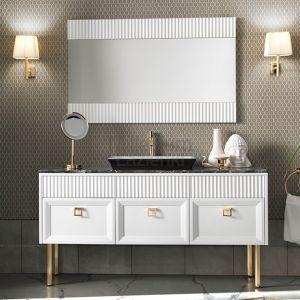 MIA ITALIA Atelier Lustro prostokątne różne kolory i rozmiary