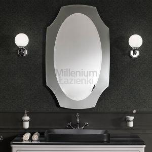 MIA ITALIA BellEpoque Lustro przydymione, brąz 60x105 cm