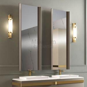 MIA ITALIA Portanuova Lampa kinkiet łazienkowy złoty, czarny, biały