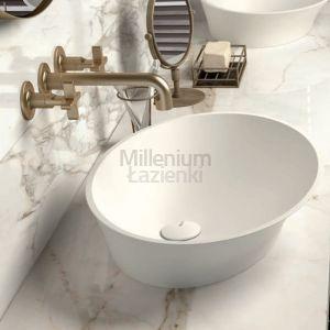 MASTELLA DESIGN Hilton Short Włoska umywalka kompozytowa