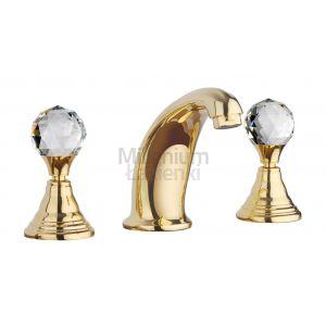 RESP Imperial 140120 Bateria umywalkowa złota lub chrom