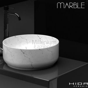 HIDRA CERAMICA Gio G42E Umywalka nablatowa biała