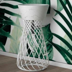 HIDRA CERAMICA Wire W1W2 Umywalka wolnostojąca biała