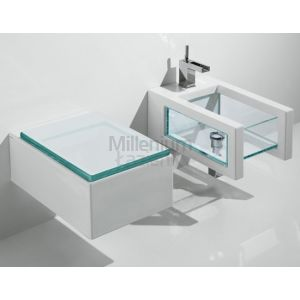 GSG CERAMIC DESIGN Glass Glbiso Bidet