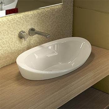 Nowoczesne praktyczne i estetyczne umywalki nablatowe od włoskiego producenta Sign