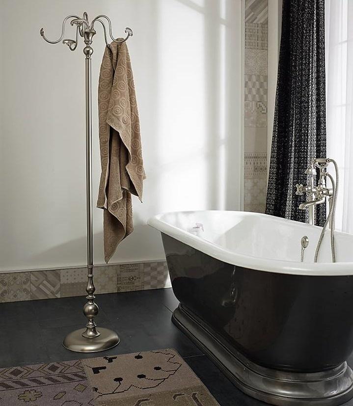 Sbordoni Deco Ge700 Wysoki Wieszak łazienkowy Retro